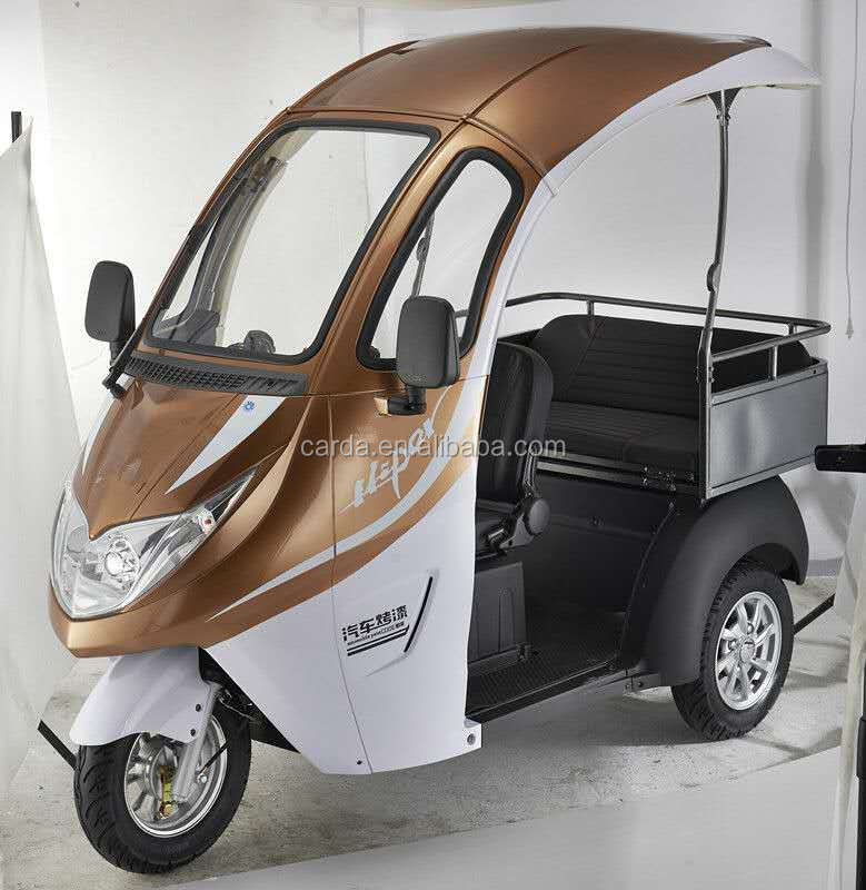 Fashional Electric scooter with roof