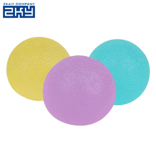 Promotional Gifts Soft Exercise Hand Massage Silicone Egg Anti Stress Ball