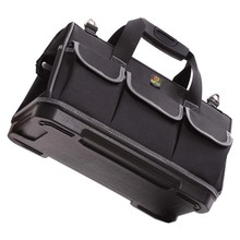 Portable Storage Tool Bag Plumber Electrician Bag Large Capacity Thicken Oxford Cloth Plastics Bottom Tool kit 15/17/20in