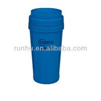 plastic plastic insert coffee cups mugs with lid
