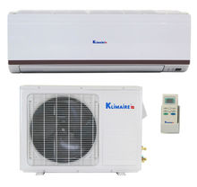 9,000 Btu Klimaire 13 SEER Ductless Mini split Heat Pump Air Conditioner -115 V - with complete quick installation kit 16 ft.