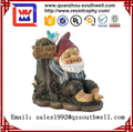 2017 resin gnome fairy garden figurine for decoration