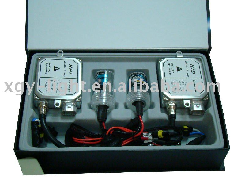 HID xenon kit with normal ballast