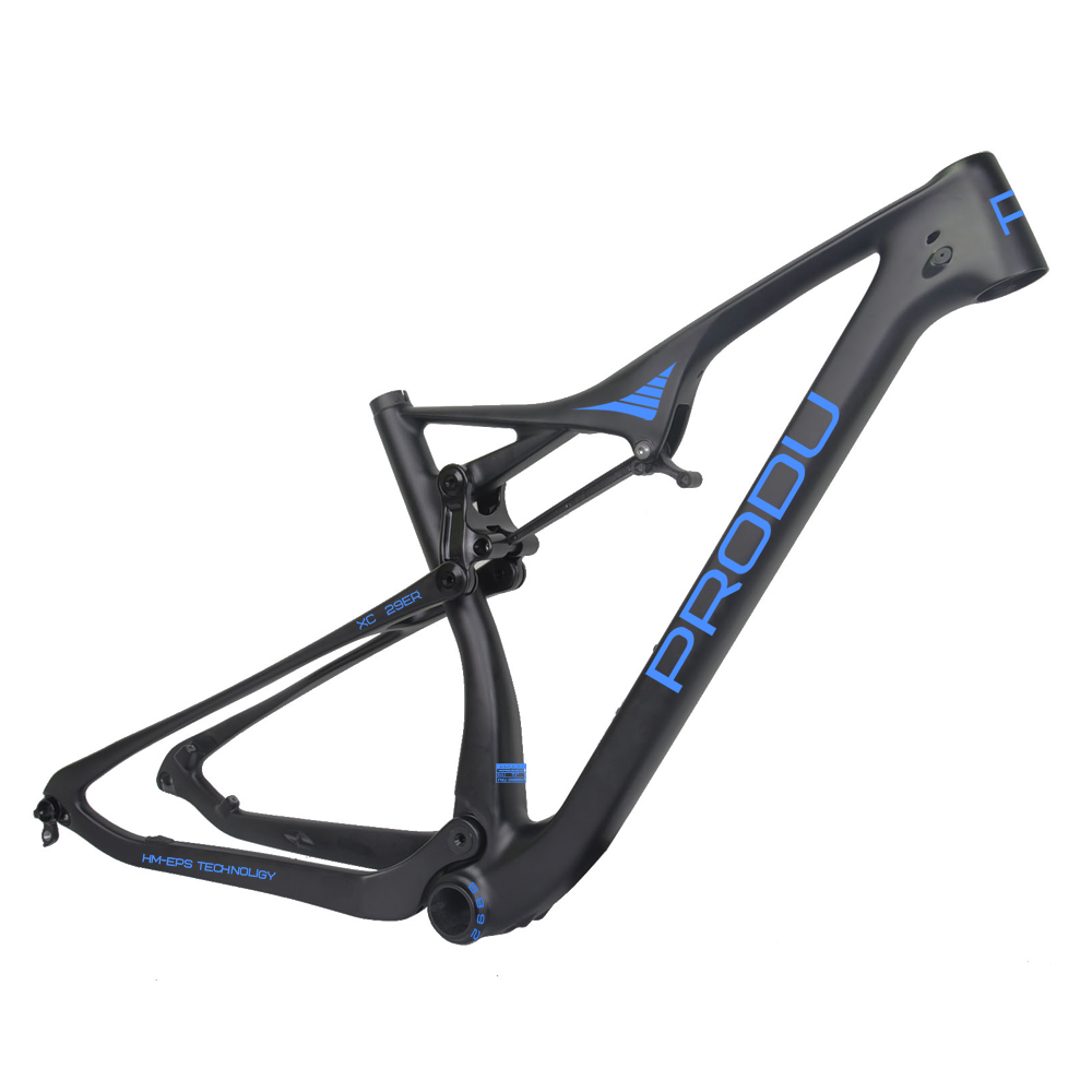 2017 hot NEW 29er full suspension XC mountain bike frame
