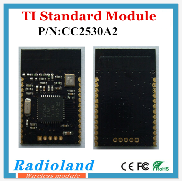 Low power and low cost CC2530A2 Zigbee module