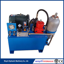 mini solar hydraulic power unit station