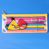 Children pvc Pencil Case for Kids with Zipper Cute School Stationery Clear Vinyl Pencil Pouch bag