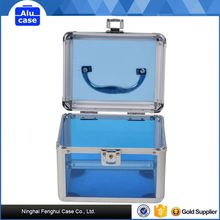 With quality warrantee factory directly aluminum trolley makeup hairdresser cosmetic case
