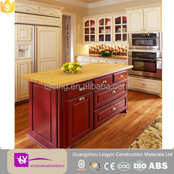 Mdf kitchen cabinet color combinations direct sale from for China kitchen cabinets direct