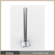 Stainless Steel Outdoor Street Permanent Mount Bollard