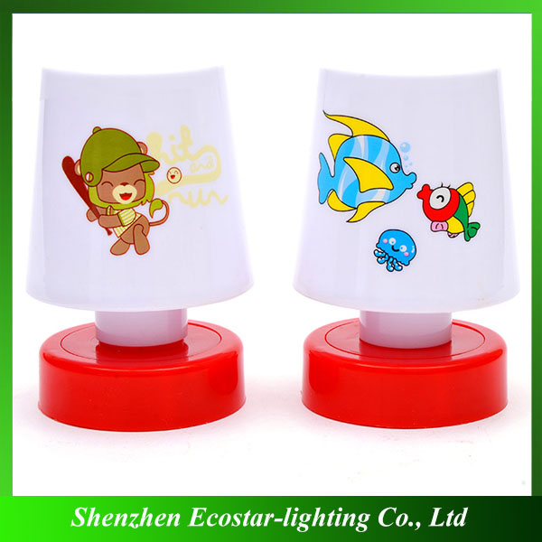 Promotional mini led night light clap night light for car/corridor/armoire/storage box lighting