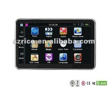 hot sale 4gb free map handheld gps navigation