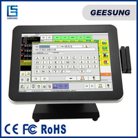 15 Inch Pos Touch Screen/EPOS System/Pos PC Fanless