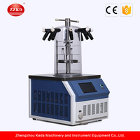 Laboratory Vacuum Benchtop Pharmaceutical Lyophilizer Factory Price