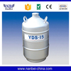15L Aluminium alloy material low temperature liquid nitrogen tank