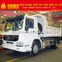 2015 New Sinotruk HOWO 4x2 china cheap dump truck factory sale