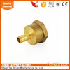 PVC hydraulic hose brass hose nipple fittings