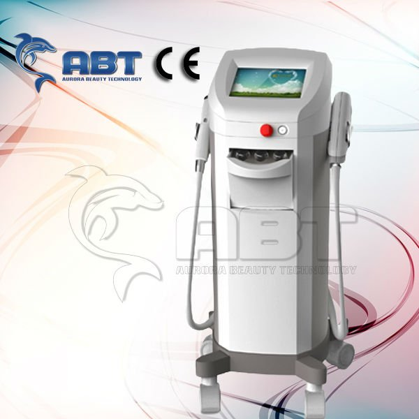 Hot selling in the summer!! salon equipment laser hair removal & Skin rejuveation & wrinkle removal