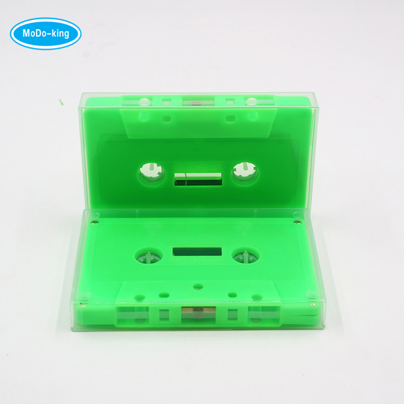 2018 New audio blank cassette tape player green color shenzhen factory