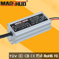 90x42x29mm IP67 water proof adjustable power supply 10 series 3 parallel with aluminium housing strong cable