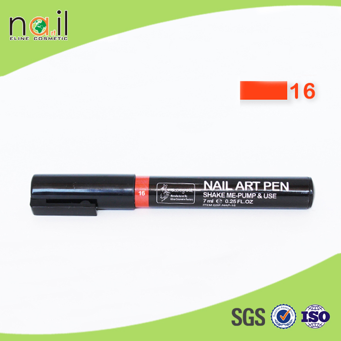 24 colors painting design tool 7 ml nail art pen