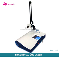 factory price portable fractional co2/ rf tube fractional laser 10600 with Medical CE Approval