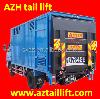 hot sale hydraulic tail lift for van truck, wing open truck, truck body