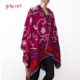 Polyester mexican cashmere knitting patterns poncho cape for women