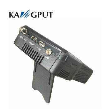 New Functional KPT-255H+ Satellite Finder Decoding HD Signal With AHD CCTV Test