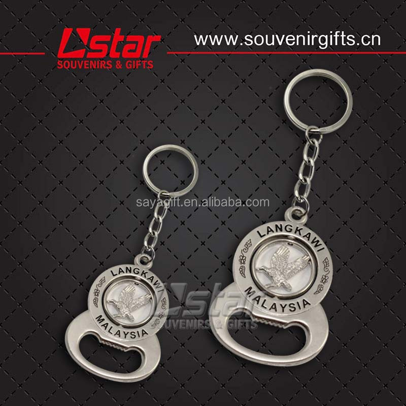 Free Sample Turkey metal souvenir keychain for gift