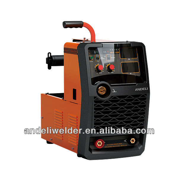 New style Inverter small CO2 GAS Shielded Welding equipments MIG-200F(MOSFET Type)