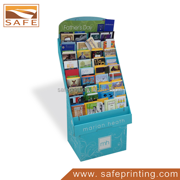 Book Cards Wholesale Cardboard Carton Brochure Display Holder Racks