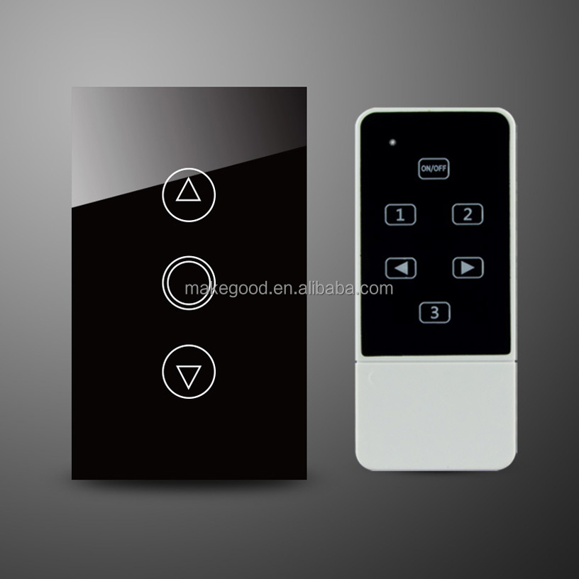 Au est ndar smart home glass touch panel dimmer - Interruptor inalambrico luz ...