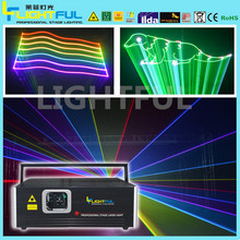 SD card laser light mini laser light show projector 2W RGB laser stage lighting