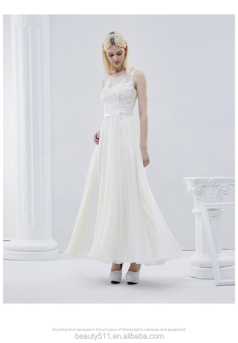 2017 fabulous Scoop crepe strapless asymmetrical draping sleeveless wedding dress with satin sash chapel train TS208