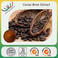 Anti-microbe product free sample HACCP KOSHER FDA cGMP certified 45% cocyphenol cocoa extract cocoa bean powder