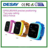 Desay GPS/LBS/Wifi SOS Study Schedule Kids 2G+3G SIM Watch DS-C603 for iOS Android