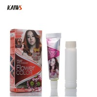 Guangzhou Factory Ammonia Free Hair Color Brands Copper Brown Hair Color