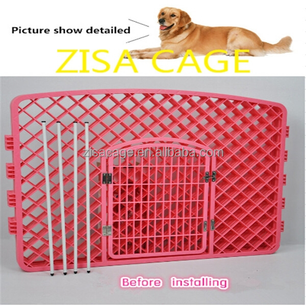 cheap plastic dog crate ,dog play pen , pet cage skype yolandaking666