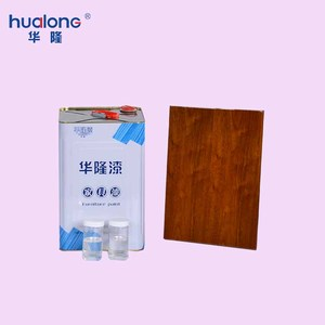 UV House Furniture Good Elasticity Finishing Matte Ultraviolet Wood Paint