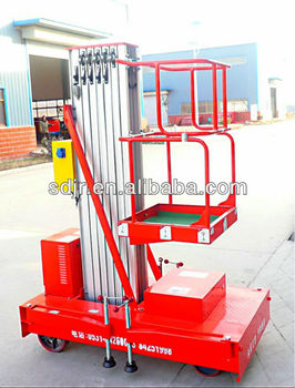 factory direct aerial raised aluminum alloy working platform lift