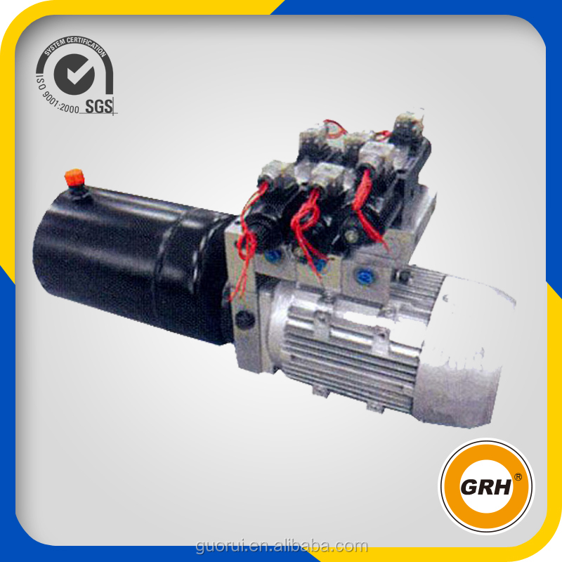 DC12V portable hydraulic power unit components