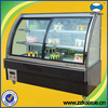 sandwich display cooler with front doors
