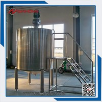 mayonnaise, dressing, jam making automatic drink mixer,mixing tank