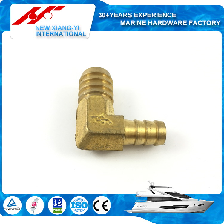 "1/4"" new products high technology bottom price brass hose elbow barbed fitting"