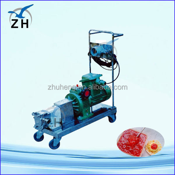 heat jacket pump ce approved lq3a stainless steel rotor/lobe/rotary pump juice pump liquid food pump sauce pump
