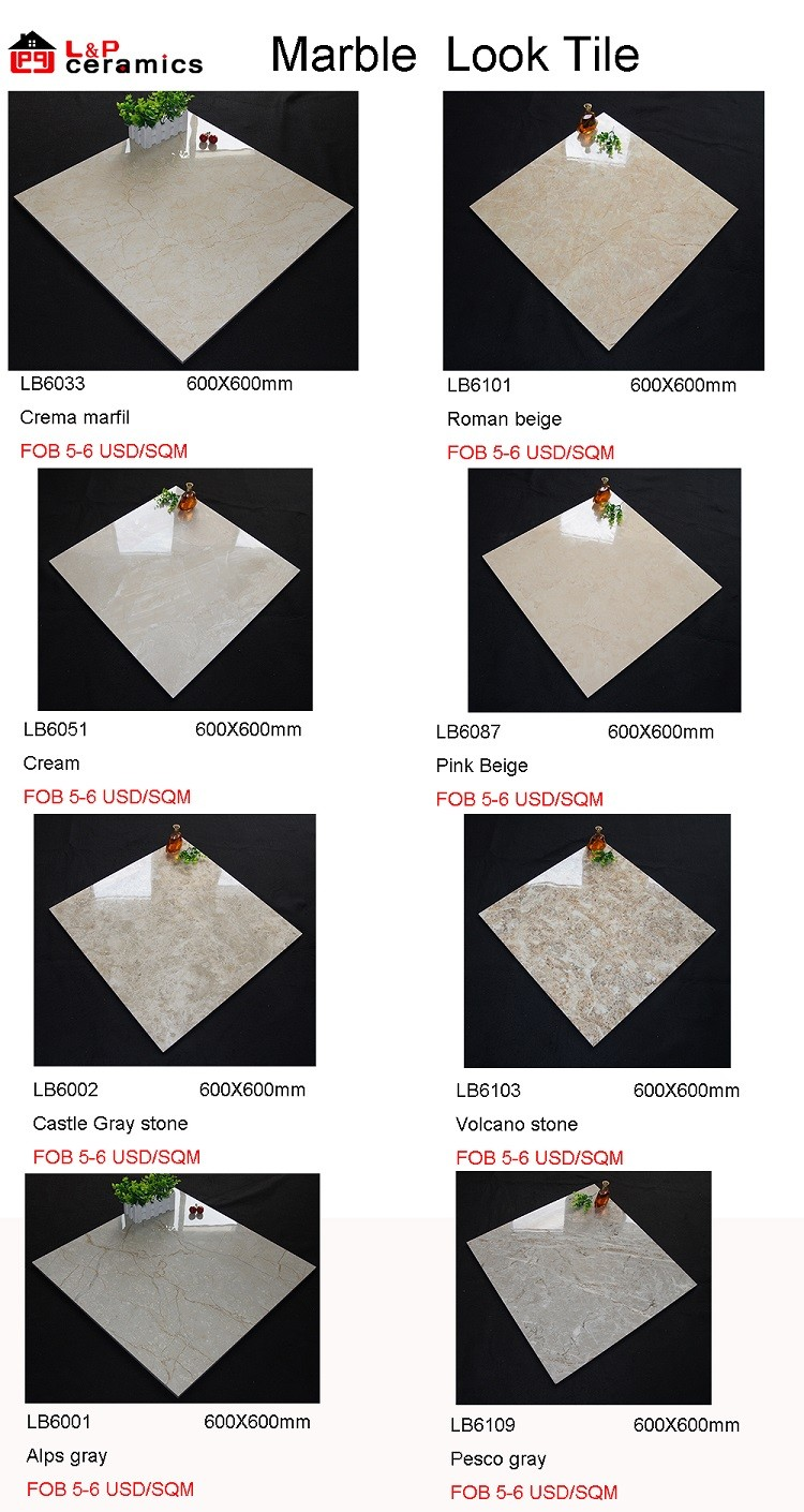 Carrara white porcelain tile 24x24,polished glazed tile,carrera porcelain tile