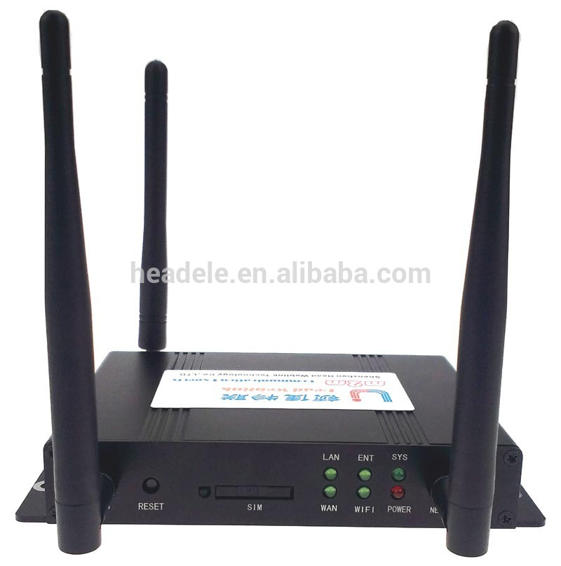 4G LTE WiFi router With RJ45 RS232 with sim card slot Industrial LTE 4G Wireless Router Support WiFi Network