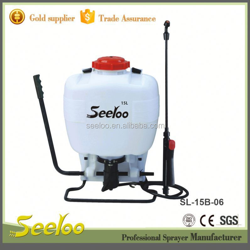 manufacturer of 20L popular gas powered backpack sprayer with very low price and good service