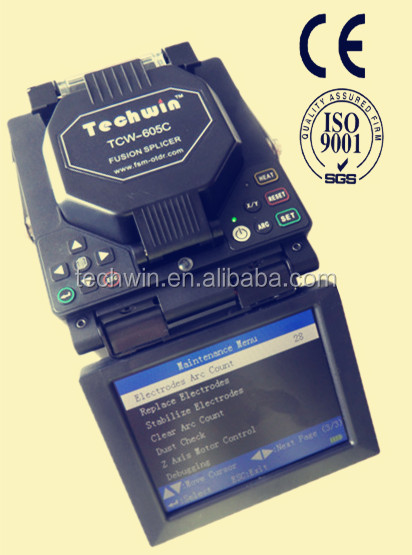 Techwin Fibre Optic Splicing Machine Tcw-605c With First Class Service and EXpert Quality